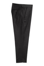 Cotton twill trousers - Black - Men | H&M 3