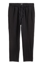 Wide trousers - Black - Men | H&M 2