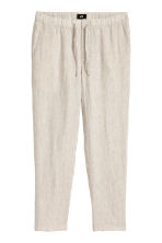 Wide trousers - Natural white -  | H&M 3