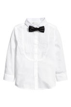 Dress shirt and bow tie - White - Kids | H&M CN 2