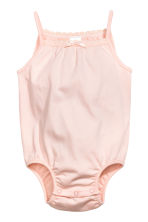 Lot de 2 bodies sans manches - Rose clair -  | H&M FR 2