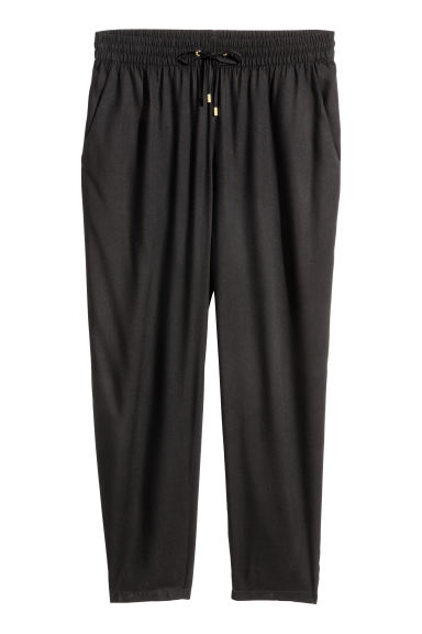 H&M+ Pull-on trousers - Black - Ladies | H&M 1