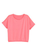 Top ample - Rose corail -  | H&M FR 2