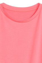 Wide top - Coral pink -  | H&M 3