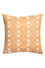Housse de coussin à motif - Jaune moutarde - Home All | H&M FR 2