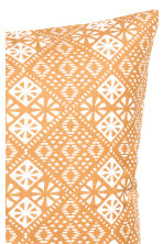 Patterned cushion cover - Mustard yellow - Home All | H&M CN 3