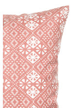 Patterned cushion cover - Dusky pink - Home All | H&M CN 3