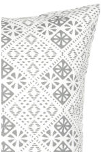 Patterned cushion cover - 白色 - Home All | H&M CN 2