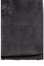 Denim skirt - Black denim -  | H&M 4
