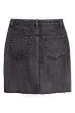 Denim skirt - Black denim -  | H&M 3