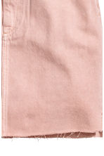 Denim skirt - Light pink denim - Ladies | H&M 4