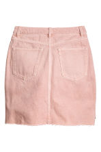 Denim skirt - Light pink denim - Ladies | H&M 3