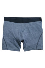 3-pack boxer shorts - Dark blue/Spotted - Men | H&M 3