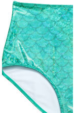 Bikini bottoms High waist - Turquoise - Ladies | H&M CN 3