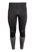 Leggings da running - Nero - UOMO | H&M IT 2