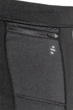 Leggings da running - Nero - UOMO | H&M IT 4