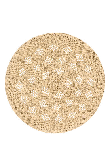 Braided table mat - Natural - Home All | H&M CN 1