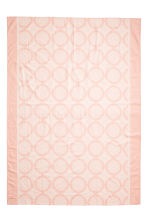 Patterned tablecloth - Light pink - Home All | H&M CN 2