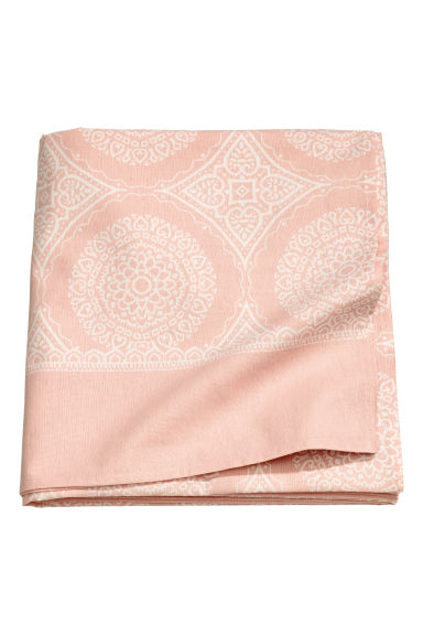 Patterned tablecloth - Light pink - Home All | H&M CN 1