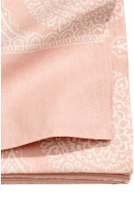 Patterned tablecloth - Light pink - Home All | H&M CN 3