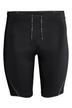Short running tights - Black - Men | H&M CN 2