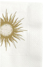 Paper napkins  - Gold - Home All | H&M CN 2