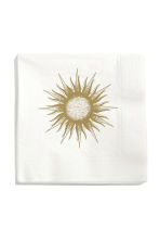 Paper napkins  - Gold - Home All | H&M CN 1