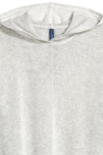 Fine-knit hooded jumper - Light grey - Men | H&M CN 3