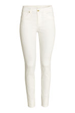 Petite fit Trousers - White - Ladies | H&M CN 2