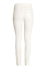 Petite fit Trousers - White - Ladies | H&M CN 3