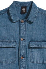 Denim utility jacket - Denim blue - Men | H&M CN 3