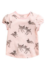 2-pack printed tops - White/Bambi - Kids | H&M 2
