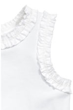 Frill-trimmed top - White - Kids | H&M 2