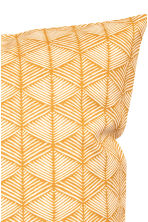Patterned cushion cover - Mustard yellow - Home All | H&M CN 2