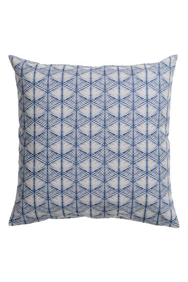 Copricuscino fantasia - Blu scuro - HOME | H&M IT 1