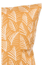 Patterned cushion cover - Mustard yellow/Leaf - Home All | H&M GB 3