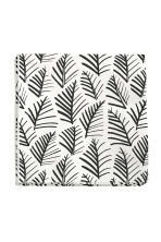 Paper napkins  - White/Leaves - Home All | H&M CN 1