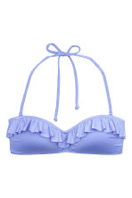 Bandeau bikini top - Light lavender - Ladies | H&M 2