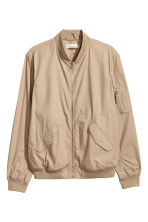 Cotton bomber jacket - Beige - Men | H&M 2