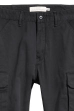 Cargo trousers - Black -  | H&M 5