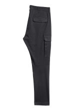 Cargo trousers - Black -  | H&M CN 3