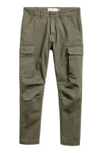 Cargo trousers - Khaki green - Men | H&M 2