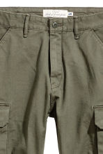 Cargo trousers - Khaki green - Men | H&M 3