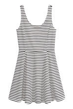 Jersey dress - White/Black striped - Ladies | H&M 2