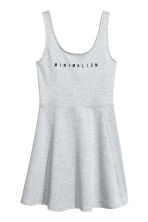 Jersey dress - Grey marl - Ladies | H&M 2