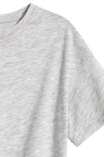 Sports top - Grey marl -  | H&M CA 5