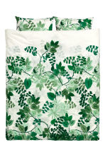 Set copripiumino fantasia - Bianco/verde - HOME | H&M IT 2