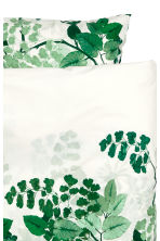 Set copripiumino fantasia - Bianco/verde - HOME | H&M IT 3