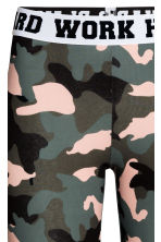 Jersey leggings - Khaki green -  | H&M 4