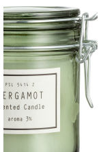 Scented candle in clip-top jar - Dusky green/Bergamot - Home All | H&M GB 3